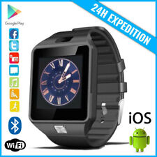 Original DZ09 Smart Watch Montre Facebook Bluetooth SIM Slot Android iOS Black