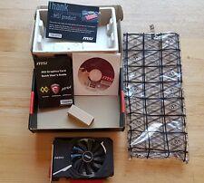 OVP MSI Radeon RX 550 Aero ITX 2G OC, 2GB GDDR5, DVI, HDMI, DP