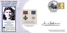2003 Victoria & George Cross Memorial - Signed by James Wallace Beaton GC