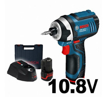 Bosch GDR10.8V-LI Cordless Impact Wrench Drill Screw Driver 2x2Ah w/Charger+Case