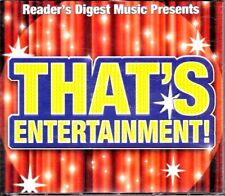THAT'S ENTERTAINMENT 5 CD Fatbox Set Readers Digest - NEW & SEALED 0347340000001
