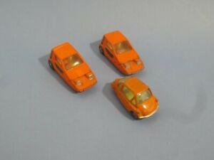 Corgi Bond Bugs & a Heinkel-X bubble car