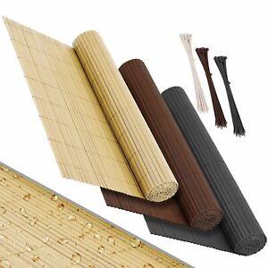 KESSER® PVC Sichtschutzmatte Sichtschutzzaun Sichtschutz Zaun Balkon Windschutz