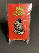Terrifying horror clown by Brian Romeo Bam Box Collectible Enamel Hat Pin