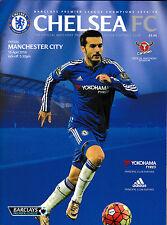 Football Programme>CHELSEA v MANCHESTER CITY Apr 2016