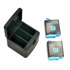 3-Slots LED Battery Charger with Type-C Cable Kit For GoPro Hero 9 Black Camera