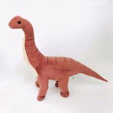 "Wildlife Artists Brachiosaurus Dinosaur 26"" Plush Brown Standing Stuffed Animal"