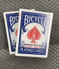 2 Sealed Packs of Bicycle 808 Poker Playing Cards - Rider Back