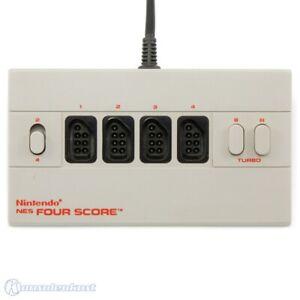 NES - orig. Nintendo Four Score / 4 joueur Adapter / FPA-PAL-S01 9112 B utilisé