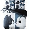 3D Cartoon Cat 768 Bed Pillowcases Quilt Duvet Cover Set Single Queen AU Carly