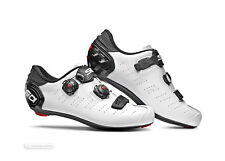 NEW 2020 Sidi ERGO 5 MEGA Wide Road Cycling Shoes : WHITE/BLACK