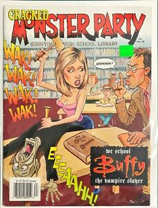 Cracked Monster Party Magazine #41 [ Fall 1998 ] We School Buffy the Vampire