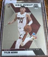 2019-20 Panini Prizm Mosaic TYLER HERRO Rookie Card RC NBA Debut Miami Heat 🔥🔥
