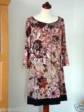 COMMA edles Kleid, wunderschön locker fallend, tolle Farben, 40 42 44 L XL Maße!