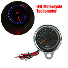 12V LED Backlight Motorcycle Tachometer 0-13000 RPM for Harley Honda Suzuki BMW