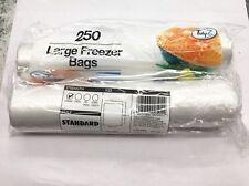 2x250 (500) Large Freezer Bags