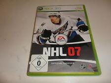 XBox 360   NHL 07