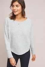 Women's Anthropologie Saturday Sunday Andro Leopard Pullover Sweater Gray Lounge