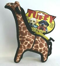 THE ORIGINAL TUFFY Giraffe World's Tuffest Soft Dog Toy