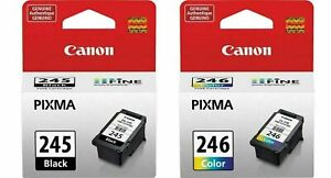 Canon PG-245xl CL-246 Genuine Ink Cartridge for MX490 PIXMA TR4520,TR4522 MG2522