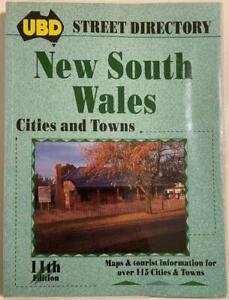 UBD NSW Cities & Towns Street Directory 11th Edition Published 1996 ~ VGC