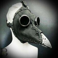 NEW Steampunk Plague Doctor Mask Bird Masquerade Full Face Mask Men Women Gray