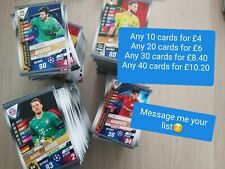 Match Attax 101 2020 bundle of any 10 base cards You choose ALL AVAILABLE
