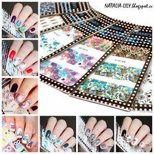 10x Nagel Tattoo Nail Art Sticker Set BORN PRETTY Blumen Muster BP-W01-10