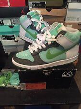Nike SB Dunk High Womens Emerald Green