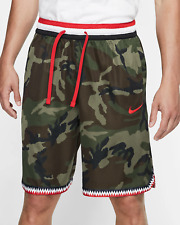 Nike Sportswear Fleece Camo Men/'s Shorts M Green Black Multi Casual Gym New