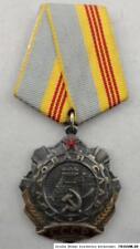 original   Russland Sowjetunion UDSSR  Orden Arbeiterruhm  Nummer  589748
