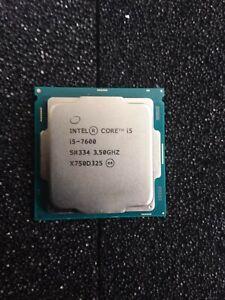 Intel I5-7600 CPU