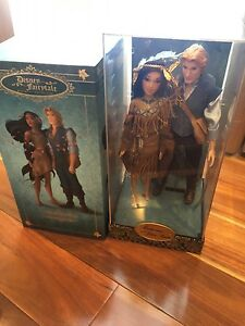 Disney Designer Dolls - Pocahontas and John Smith