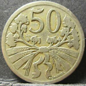 1922 Czech Republic 20 Haleru #CZ01