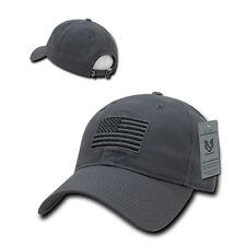 USA US American Tonal Flag Patch United States of America Polo Baseball Hat Cap