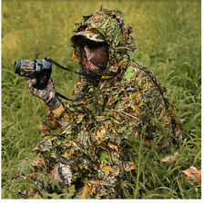 Jagd Kleidung Militär Tarnnetz Camouflage Clothes Hunting Sniper CS Ghillie Suit