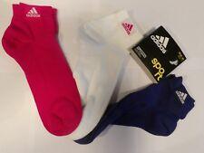 Adidas Chaussettes Training Ankle Plain t3p pnkbuz/WHT/amapur