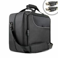 Laptop Travel Case with Carrying Strap , Scratch-Resistant Lining & Compartments