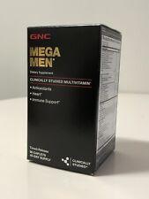 GNC Mega Men Multivitamin Timed-release 90 Caplets New Sealed Exp 01/22