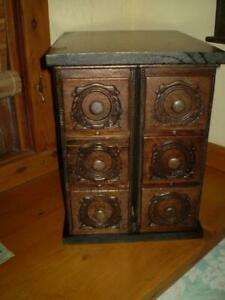 vintage style cabinet from 6 old singer sewing machine draws re purposed cabinet