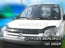 Citroen Berlingo II / Peugeot Partner II  2002 - 2008  Bonnet Guard  HEKO 02123