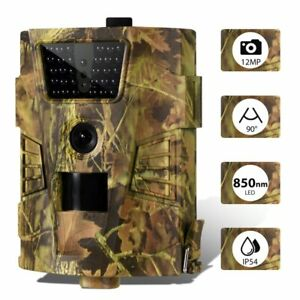 Outdoor Wildlife Trail Hunting Camera 16MP 1080P Night Vision Wild Photo Trap
