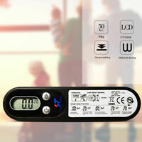 50kg Portable LCD Digital Hanging Luggage Scale Travel Hanging Electronic Weight