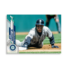 2020 Topps Series 2 JUMBO 5x7 Ken Griffey Jr. SSP Photo Variation  #'d /49