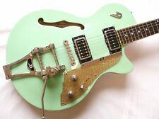 2005 Duesenberg StarPlayer TV Surf Green Electric Guitar Free Shipping w/SC