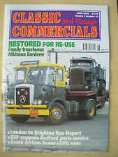 CLASSIC & VINTAGE COMMERCIALS MAGAZINE JUNE 2000 RESTORED ATKINSON BORDERER