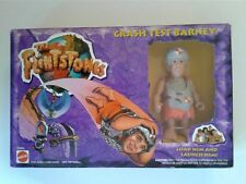 THE FLINTSTONES CRASH TEST BARNEY 1993 MATTELL NIB