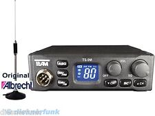 TEAM TS-9M CB FUNK SET 4W AM FM für LKW ACTROS TGA mit 65cm MAGNET ANTENNE