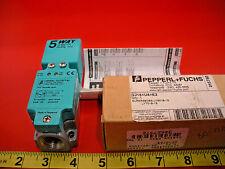 Pepperl Fuchs NJ15+U4+E2 Proximity Sensor Switch 015750 10-60vdc Nib New