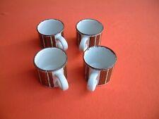 "4 Kaffeetassen Midwinter stonehenge ""earth"" England"